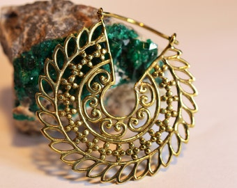 """Brass Earrings """"Ancient India"""""""
