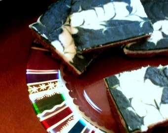 Irish Mint Chocolate Brownies