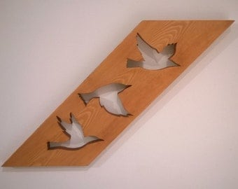 Birds in Flight Wall Art