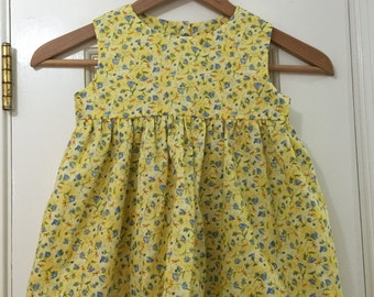 Yellow Dragonfly Dress 3T