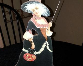 halloween witch vintage halloween witch halloween art