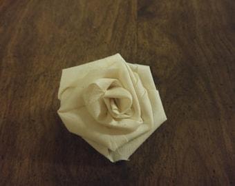 Fabric Rose 12ct