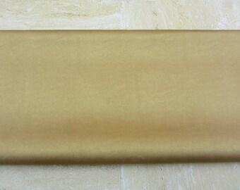 Gold PU Leather Fabric 50cm x 65cm