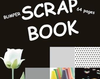 Jumbo Black Paper Scrapbook - Twin Pack