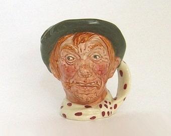 Royal Doulton, Toby Jug, Character Jug, Vintage Collectible, Made in England
