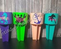 Spiker, Personalized Spiker, Beach Spiker Cup Holder