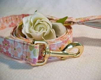 Pink Floral Leash