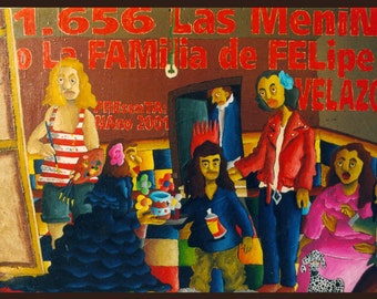 """Picture """"Las meninas"""""""