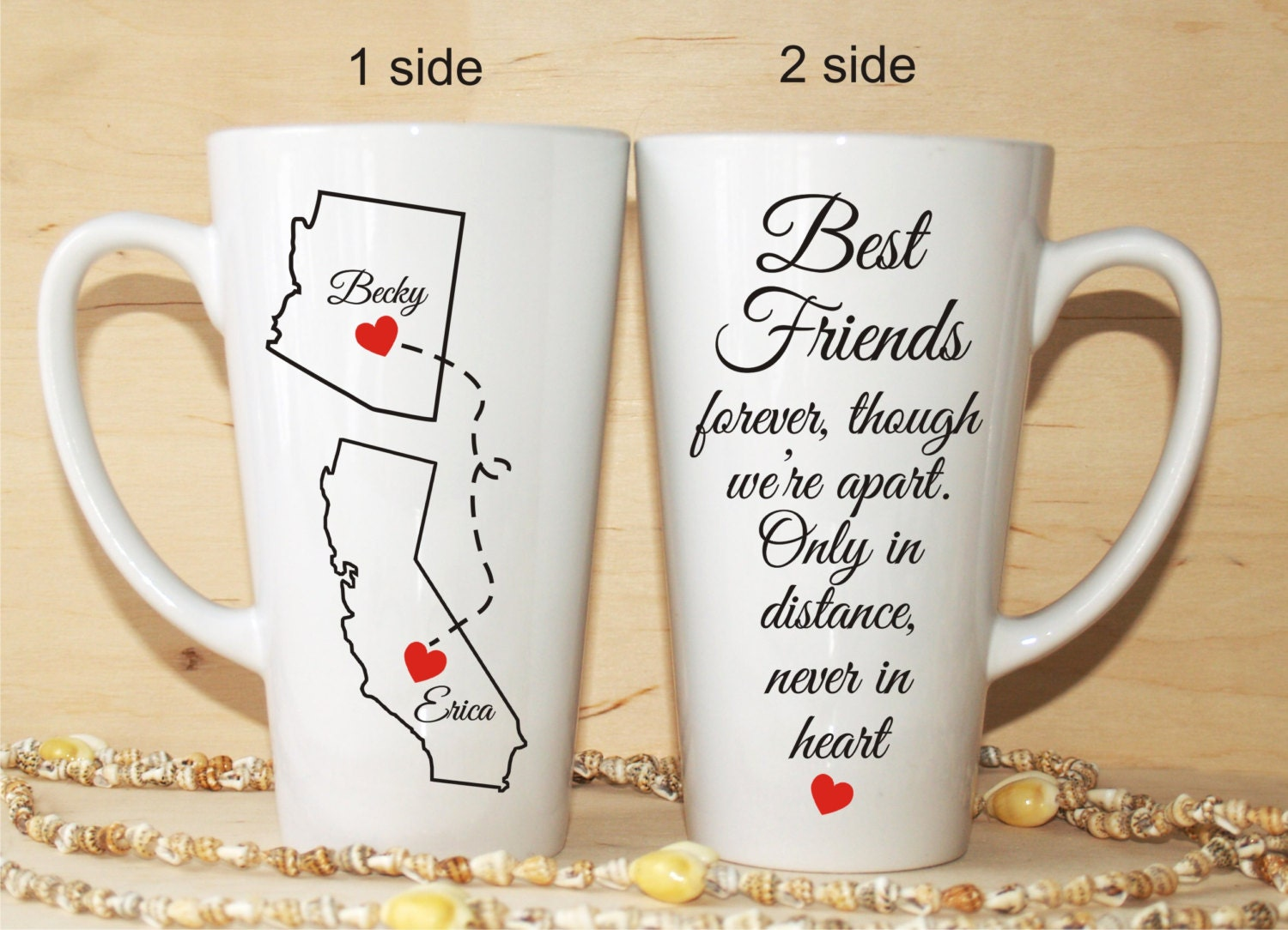 Quotes About Long Distance Friendship Friendship Quote Mugs Friendship Mug Gin Vodka Best Friend Gift