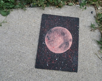 Blood Moon Painting