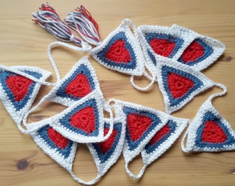 Red,White and Blue bunting