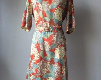 1970s vintage mini dress, chiffon dress,
