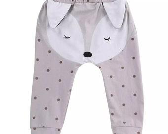 Foxy polka dot trouser