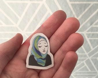 2 Hijabi Stickers