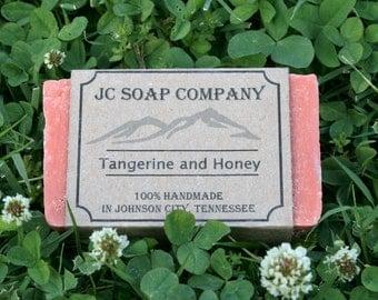 Tangerine and Honey Soap