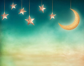 Goodnight Moon Photography Backdrop (FAN-AD-006)