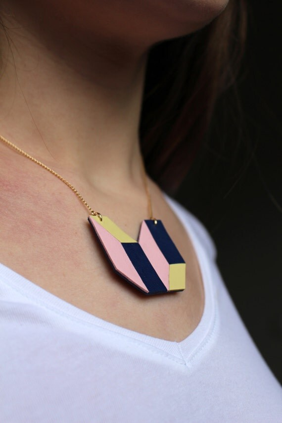 """Leather necklace """"Summer fragment"""" no1"""
