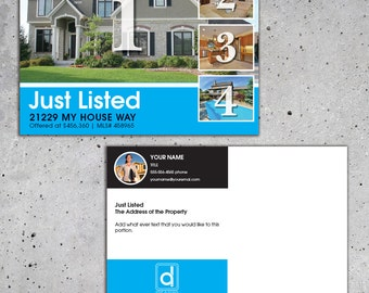 Real Estate Just Listed Card #4