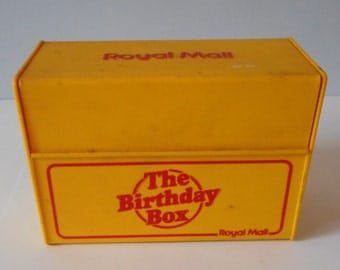 Adware, Home Office, Desk Item, Memoriabilia, Royal Mail, Post Office Index box with index sheets
