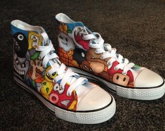 Super Mario Custom Shoes