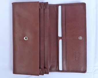 100% Genuine cow finished leather Wallet