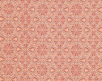"Victoria and Albert for Westminster Fabrics   Jones   ""Starred""   Melon"