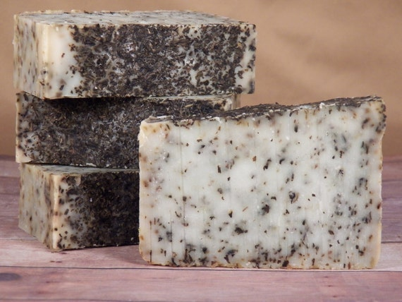 All Natural, Cool Mint, Cold Process Soap