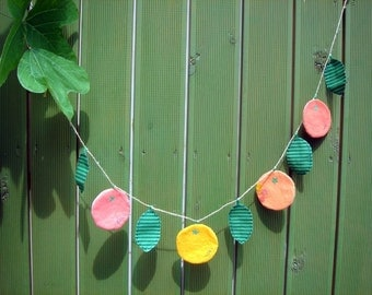 Orange tangerine garland