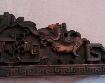 Chinese Architecural Wood Carving