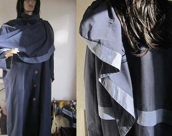 Vintage 80s Cape coat designer oversize Onesize