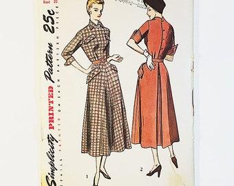 40s Dress Pattern | Simplicity 3005 Misses  Dress Pattern | 40s Sewing Pattern