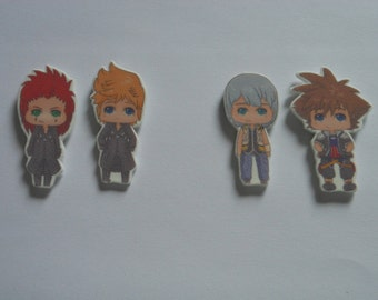 Kingdom Hearts inspired Charms
