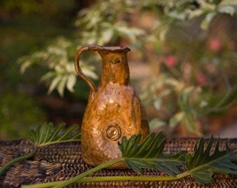 Ceramic Jug Vase Brown