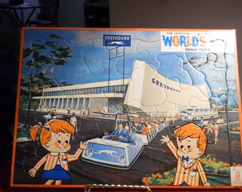 1964-1965 New York World's Fair Puzzle