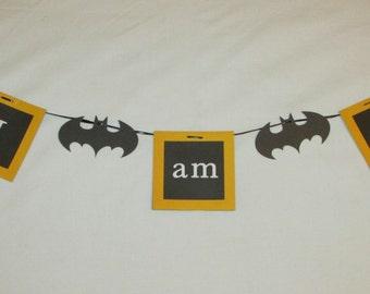 Batman Highchair Banner
