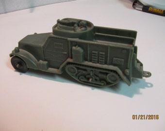 Vintage Auburn Dark Green Half-Track