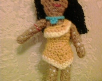 Little Pocahontas doll