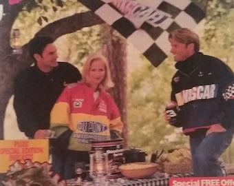 Vintage 90s Nascar Racing Catalog Fall Fashion