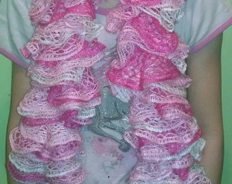 Made to order Ruffled Scarf