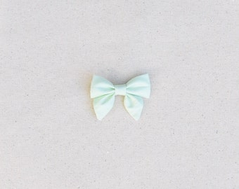 Mint Isla Sailor Bow