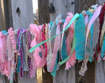 Lace and Frill Banner: Smash Cake, Birthday Party
