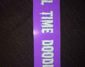 Full Time Doodler Sticker