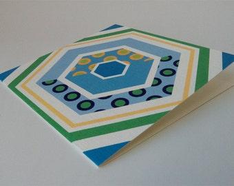 Geometric Card