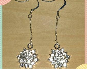 Flower earrings, item#17