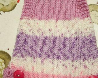 Handmade knitted pet Chicken jumper