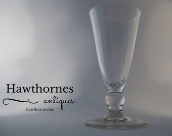 Georgian 1770/80 Ale Glass #105