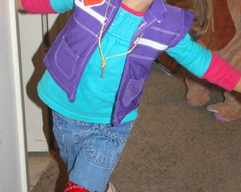 Punky Brewster Vest (80s costumes)