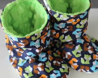 Slippers style ankle boot Fox & Green