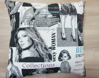 Self stitched pillow