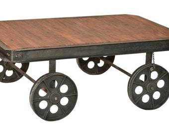 Gerad coffee table cart